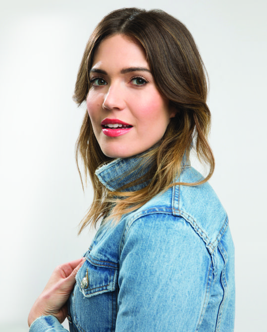 How Mandy Moore Avoided Body Image Pressures Growing Up