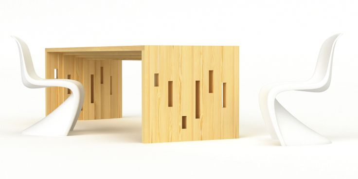 dining table RASTER by cubica