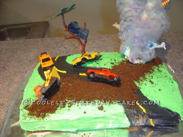 Totally Twister Tornado Cake - 1