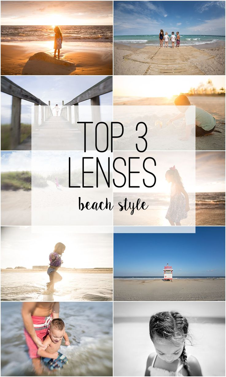 Lenses that make your beach photography pop!