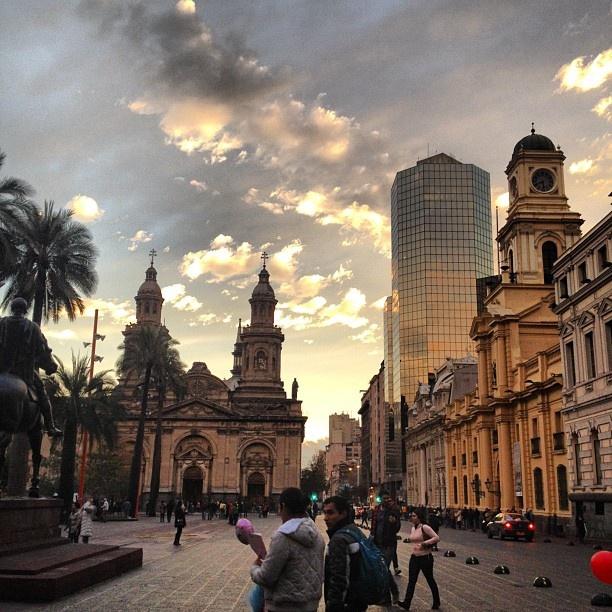 Santiago, Chile - plaza de armas