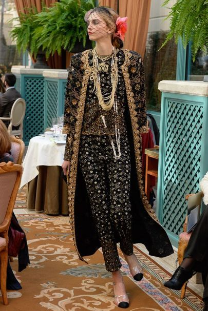 Chanel Pre Fall RTW 2017 Collection | British Vogue