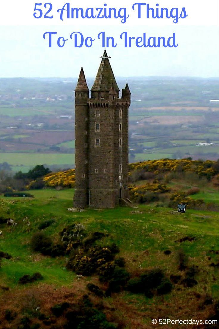 50 things to do on your Ireland vacation. Ireland travel tips. via @52perfectdays