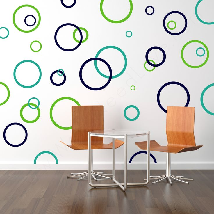 Rings & Dots | Wall Decals Design Packs | Walls Need Love