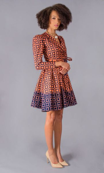 CUT FROM A DIFFERENT CLOTH ~African fashion, Ankara, kitenge, African women dresses, African prints, Braids, Nigerian wedding, Ghanaian fashion, African wedding ~DKK