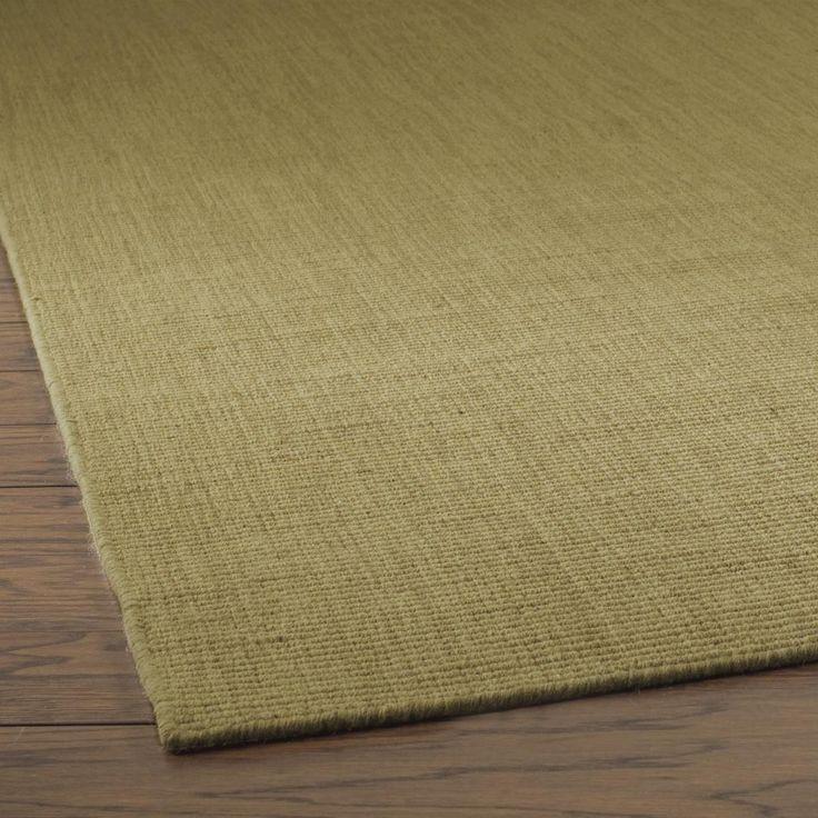 Solid Color Wool Sisal Look Rugs