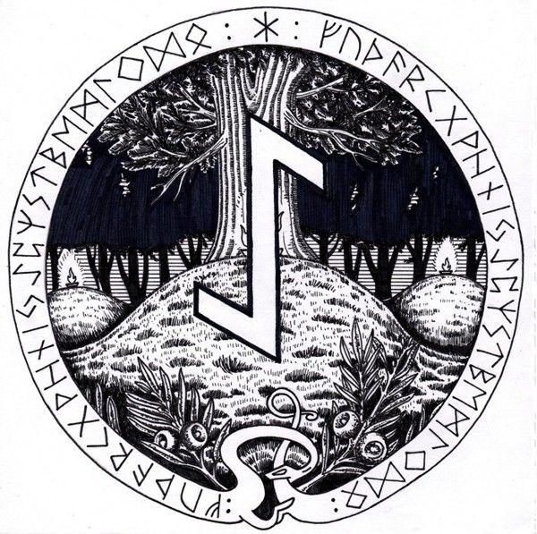 252 Best Runes Images On Pinterest Runes Asatru And Norse Mythology