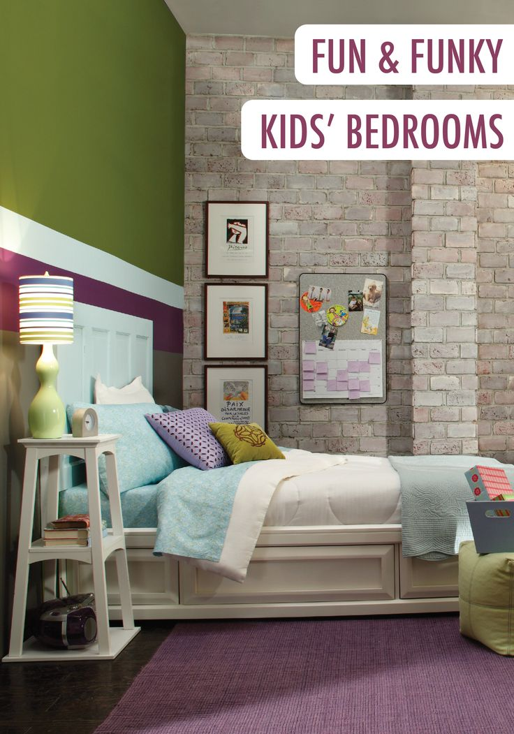 17 best images about kids 39 rooms on pinterest paint Fun teen rooms