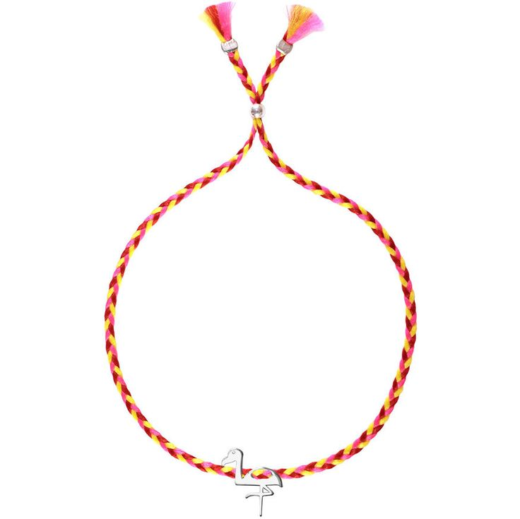 No.114 Flamingo Charm - Sorbet Bracelets