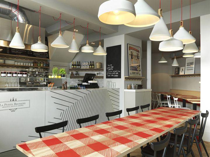 La Petite Bretagne restaurant by Paul Crofts Studio, London » Retail Design Blog