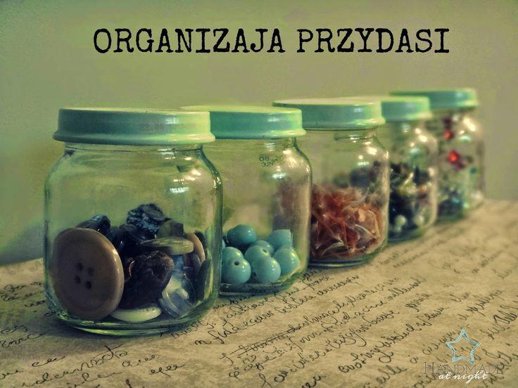 Słoiczki na przydasie - organizacja pracy