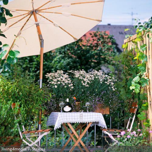 Sonnenschutz Auf Dem Balkon. Natürlicher SonnenschutzSonnenschirmGartenpartyGarten  TerrassePlatzDer ...