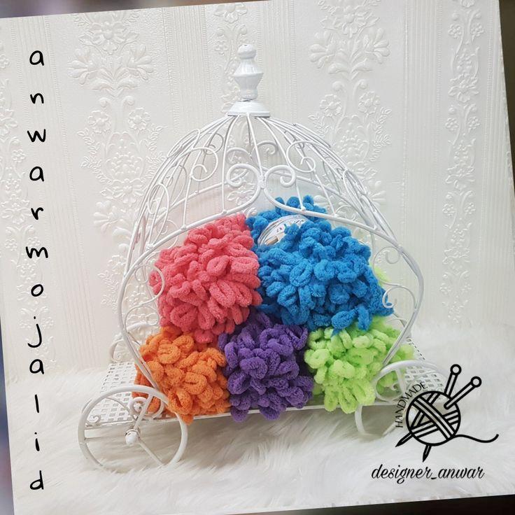 Alize Puffy Crochet Hats Crochet Puffy