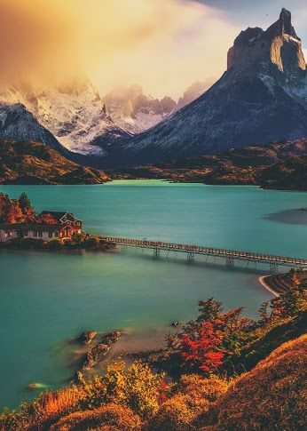 Torres del Paine National Park, Chile by Andrew Waddington
