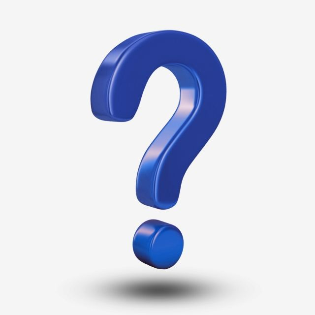 Blue Question Mark 3d This Or That Questions Question Mark Question Mark Icon