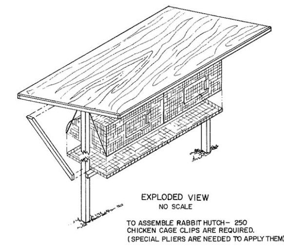 how to build a rabbit hutch pdf