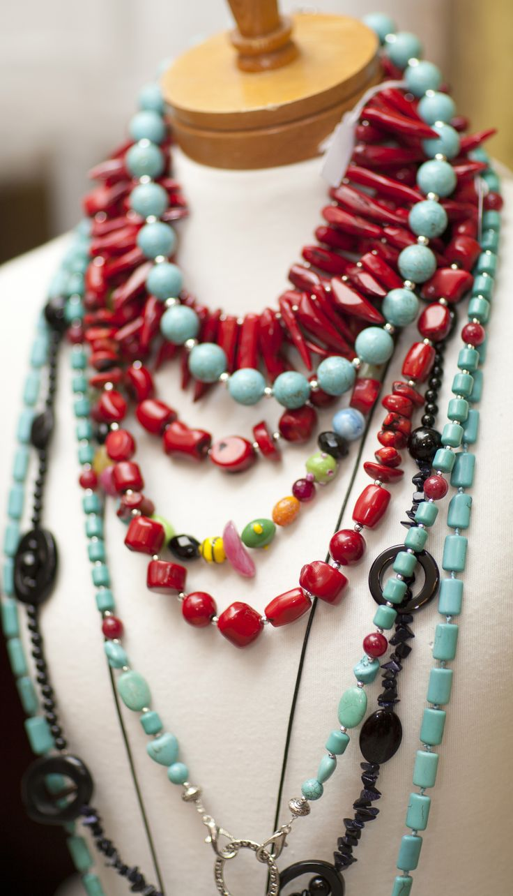 Bellissimo Port Douglas Jewellery, Red Coral, Turquoise, Jet, Agate
