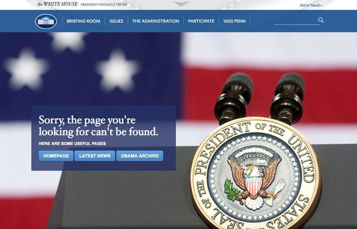 Di bawah kedua George W. Bush dan Barack Obama, Gedung Putih mempertahankan versi bahasa Spanyol dari situs resminya, sementara pemerintahan Obama juga diperbarui pendamping Twitter akun nya, @LaCa…