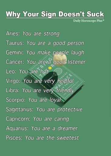 Horoscope Memes & Quotes Awwwww