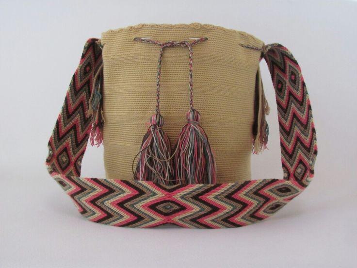 Kattoulu mochila wayuu 100% artesania colombiana
