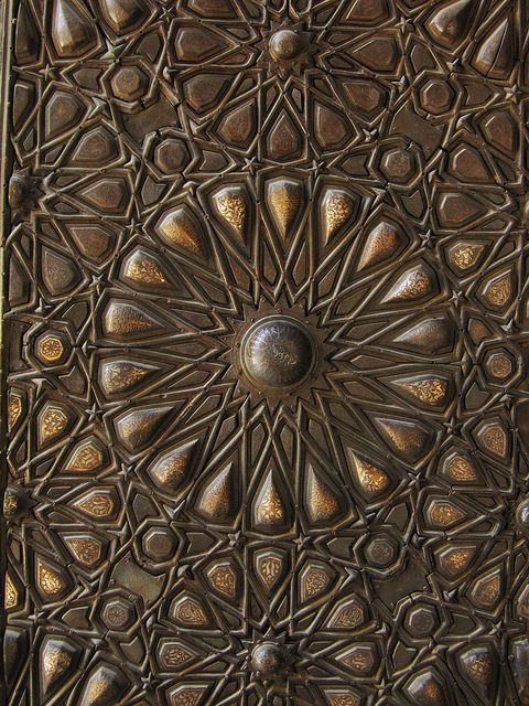 Gate of Madrasa and Khanqah of Sultan Barquq, Historic Cairo, Egypt . Photo by Ahmed Al.Badawy