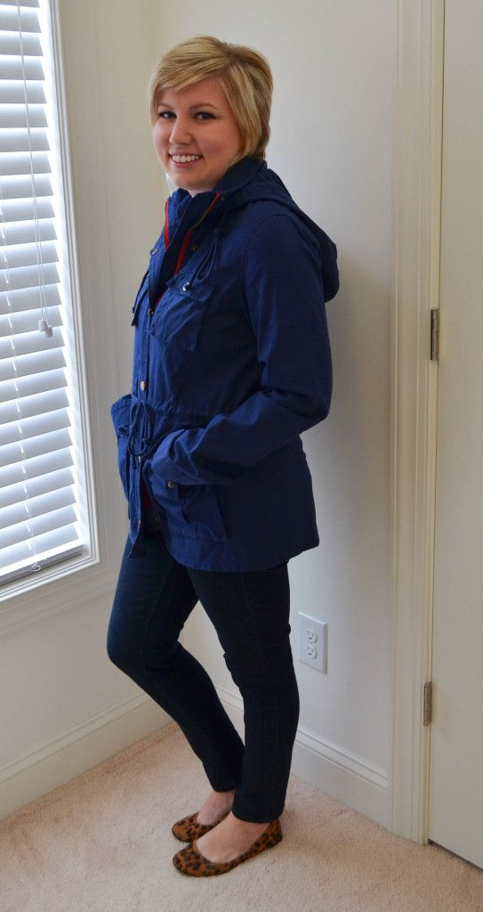 market and spruce chaplin hooded anorak cargo jacket  Definetely need this and in blue like this pic!