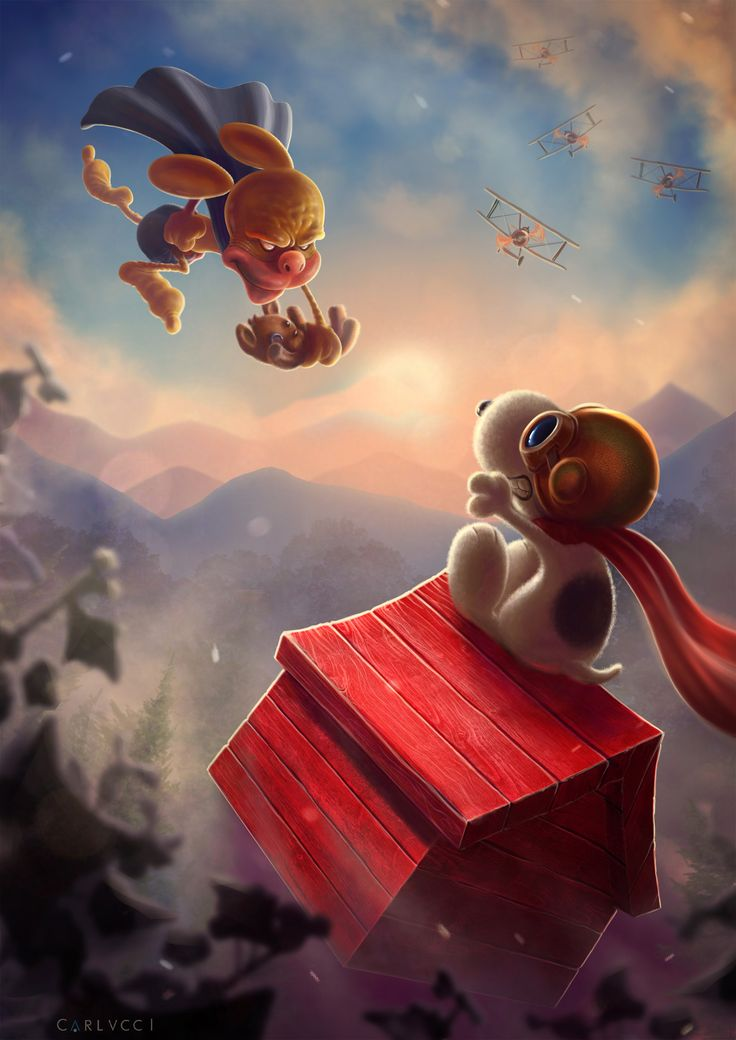 Ratman VS Snoopy