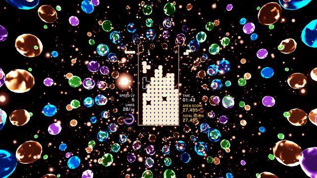 Tetris Effect Coming To Pc Vive And Rift Gaming News Entertainment Musical Blocks Tetris Widescreen Wallpaper