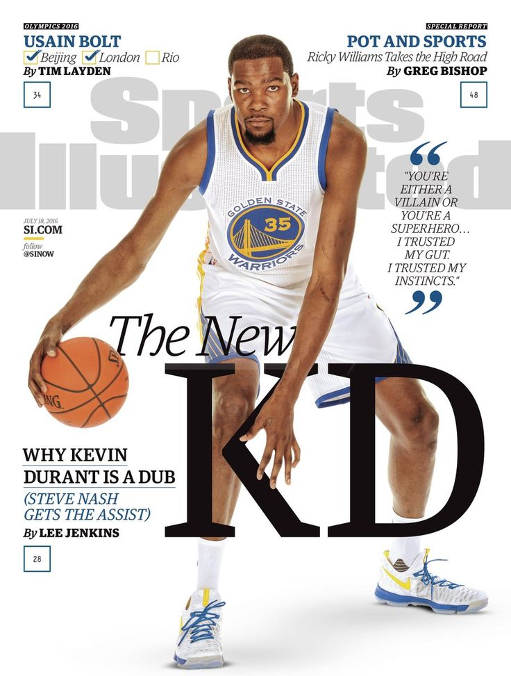 KD on Sports Illustrated