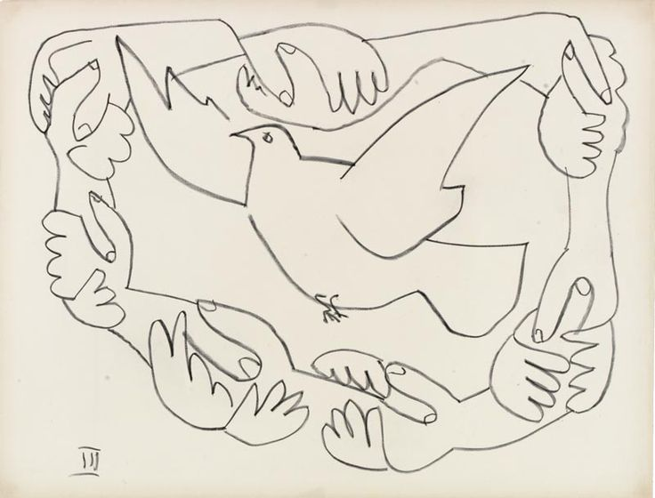 Hands Entrwined III  Picasso: War and Peace | Voices Education Project
