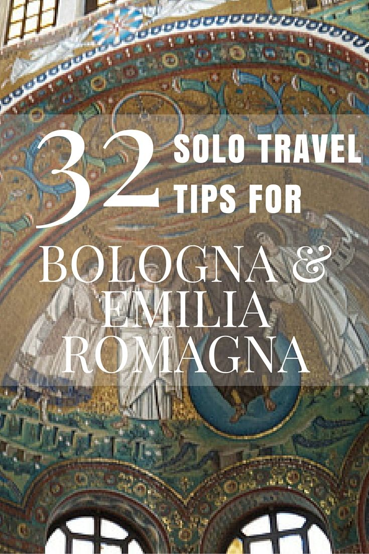 Solo Travel to Bologna and Emilia Romagna – 32 Tips http://solotravelerblog.com/solo-travel-bologna-emilia-romagna-32-tips/