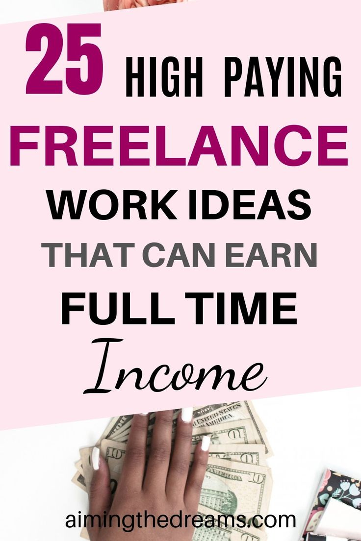 25 freelance work ideas you can start while working full