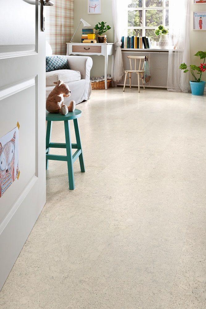 527380 Haro Cork Floor Corkett Design Lagos Painted White Cork Flooring
