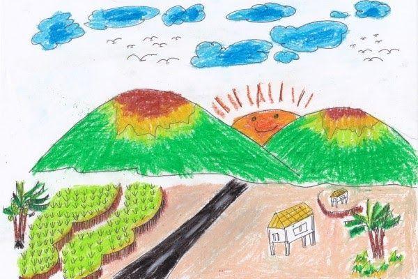 Contoh Gambar Pemandangan Untuk Anak Tk Gambar Mewarnai Mewarnai Menjadi Sebuah Aktivitas Yang Seru Dan Menyenangkan Bagi Anak Pemandangan Gambar Lukisan Batu