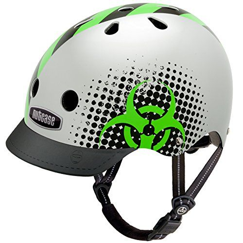 BMX Helmets - Nutcase  Street Bike Helmet Fits Your Head Suits Your Soul  Biohazard Small *** Learn more by visiting the image link.