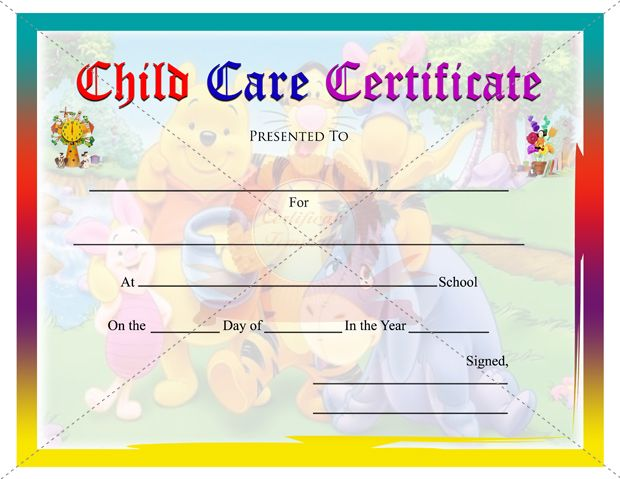 Best Kids Certificate Templates Images On   Certificate
