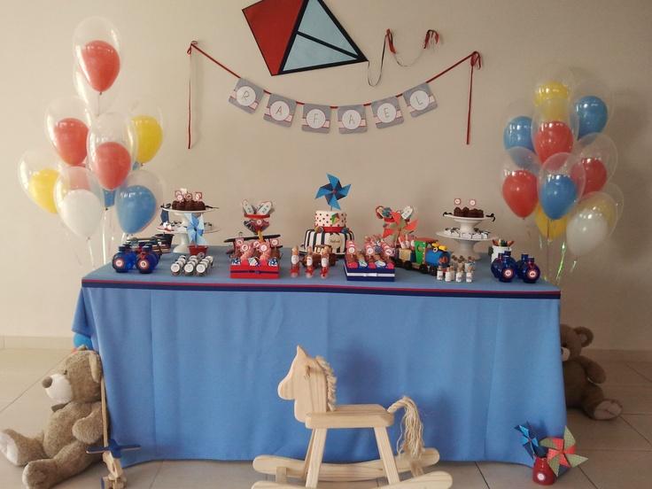 Festa tema brinquedos de meninos!