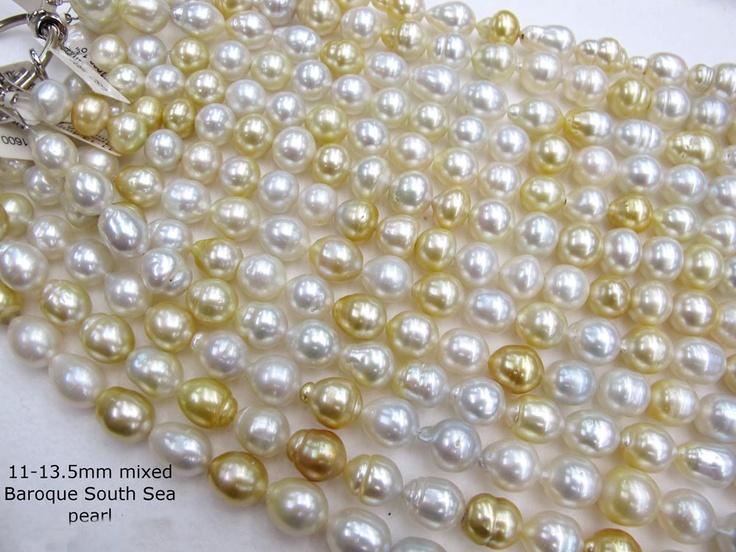 Natural South Sea Pearls