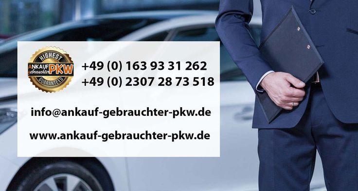 Fahrzeugankauf für Export Ihren Wagen gewinnbringend verkaufen!  Wir sind seit 1998 im Autoankauf tätig und das bundesweit, wir nehmen Gebrauchtwagen aller Art in Zahlung. Also wenn Sie sich entschließen sollten, Ihren Wagen zu verkaufen, holen Sie sich ein Höchstpreisangebot von Ankauf gebrauchter PKW.   #Autoankauf Fahrzeug #Export Fahrzeugankauf #Fahrzeugankauf für Export