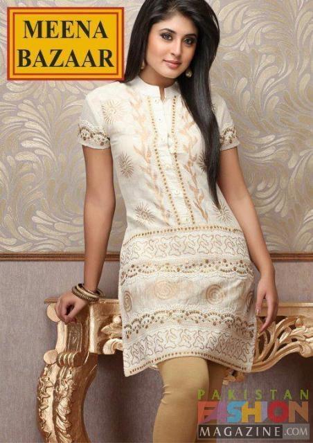 Latest Short Kurta & shalwar kameez Collection 2012