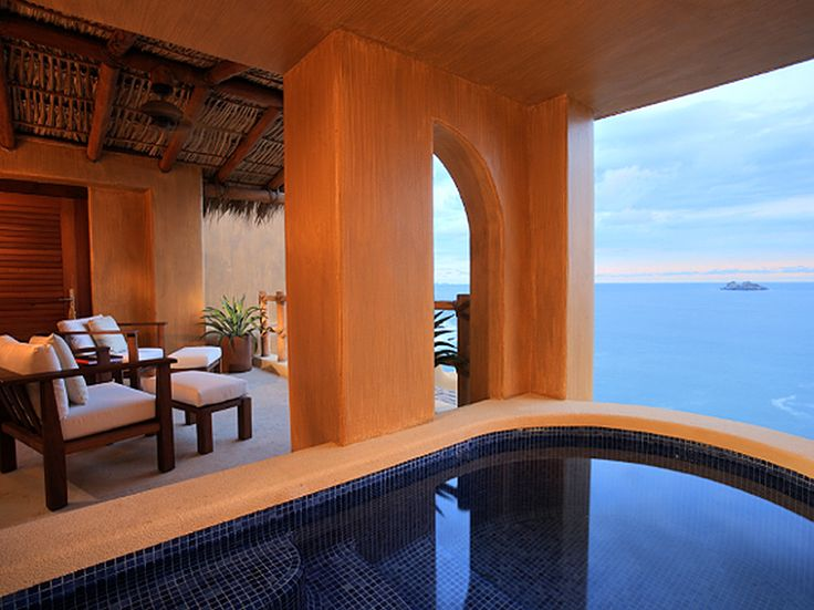 """Room 31 at the Capella Ixtapa in Mexico"