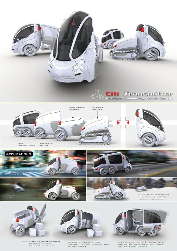 Citi Transmitter Multi Purpose Personal Vehicle By
