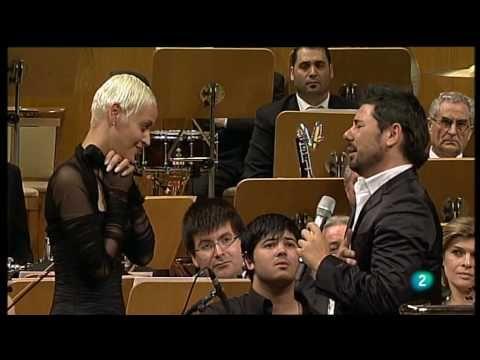 """Miguel Poveda, Mariza y la ONE """"Meu fado meu"""" - Auditorio Nacional de Madrid - 12.06.2010"""