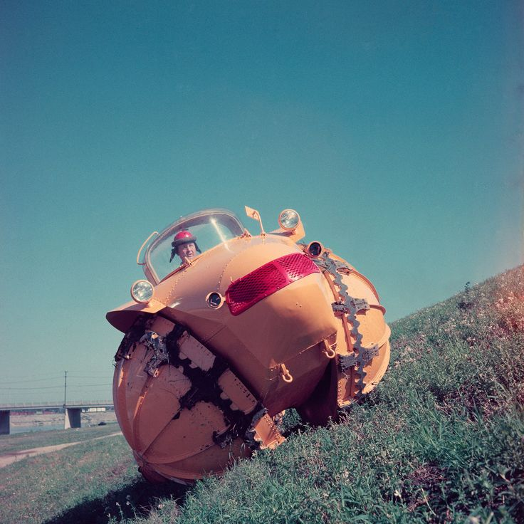 This bizarre 1954 vehicle conquered impossible terrains
