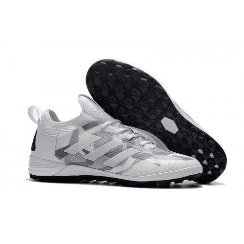 Adidas Fußball Schuhe Neu Adidas ACE Tango 17 Purecontrol TF Grau Weiß