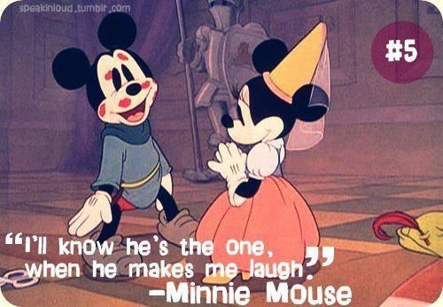 adorable, disney, quote, mickey and minnie mouse, minnie ...