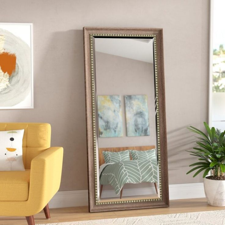 7 Chic Leaning Mirrors & Oversized Mirrors With Serious ...