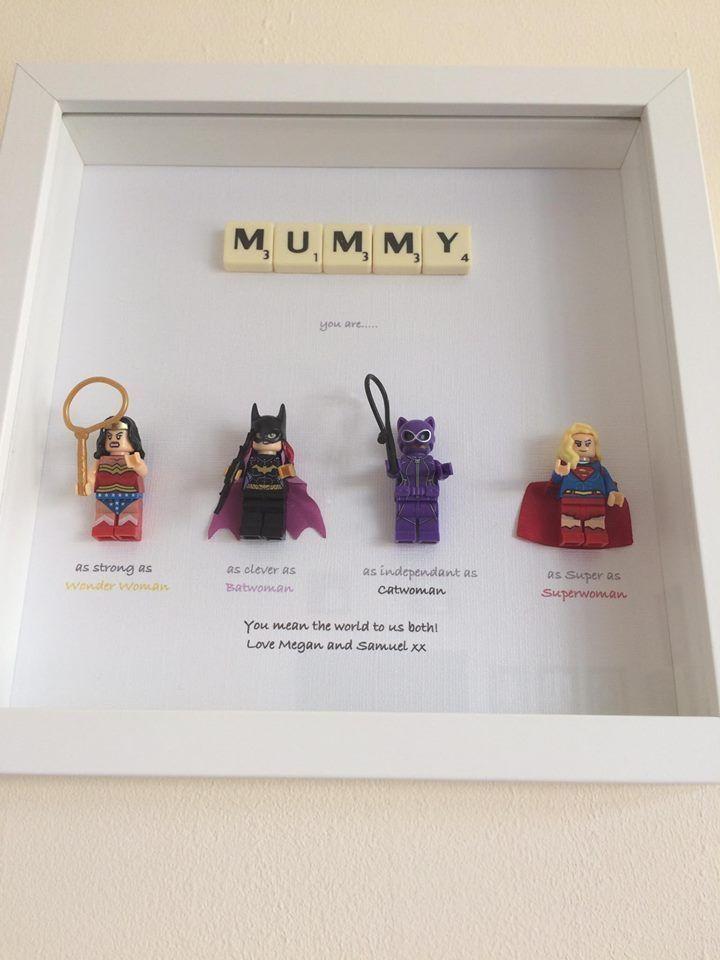 Personalised Superhero Mothers Day Gifts Mummy Mother Mam Mum Birthday Gift