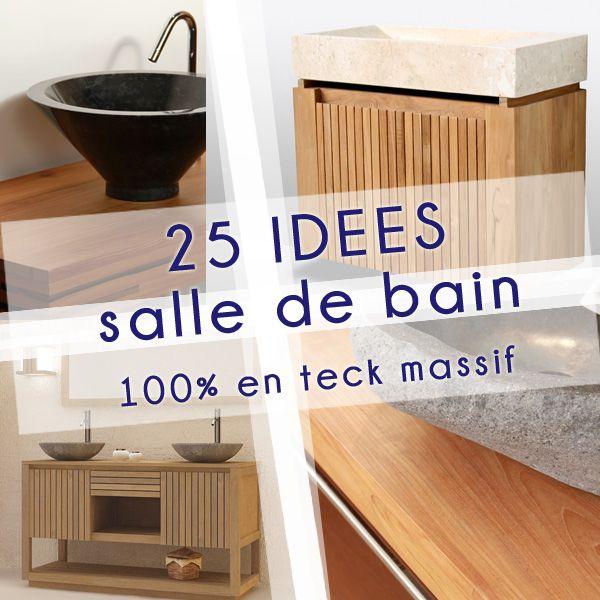 47 best rue de siam salle de bain en teck images on for Salle de bain brest
