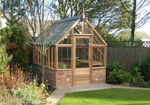 17 best images about greenhouses on pinterest for House plans with conservatory
